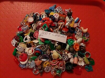 Vintage Gumball/Dime Store Charms/Toys Lot Of 300+