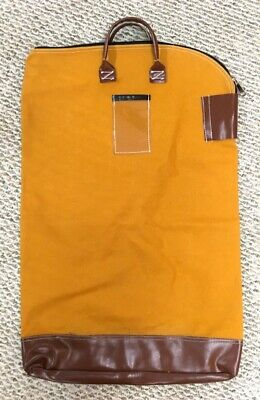 """Large 30"""" Charnstrom Mail Carrier Heavy-Duty Canvas Security Bank Bag #79"""
