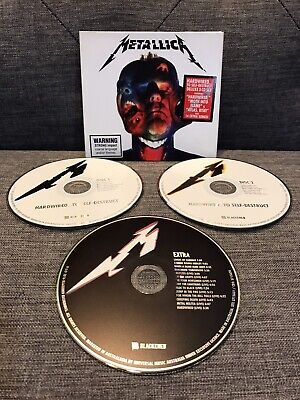 METALLICA Hardwired To Self Destruct CD DELUXE 3 Disc Edition 2016 Australia VGC
