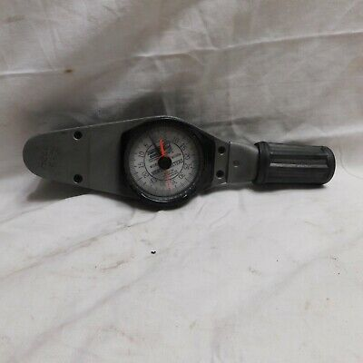 """Sturtevant Richmont 3/8"""" Dial Torque Wrench Newton Meters Model MD35Nm"""