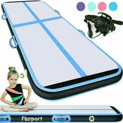 13/16/20FT Airtrack Inflatable Air Track Floor Gymnastics Tumbling GYM Mat CA