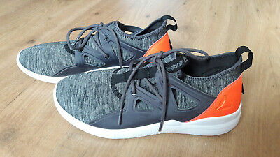 Details about Reebok Supreme Strap Men's Trainers CN4929 Grey Running Fitness Shoes New