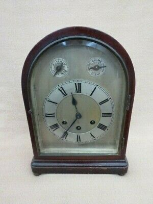 Antique Copenhagen Chime Gustav Becker Bracket Clock
