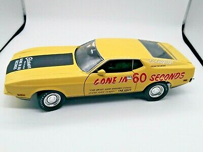 Greenlight Ford Mustang Mach 1 1973 Eleanor  Gone In 60 Sec 1:18 Neuf Boite