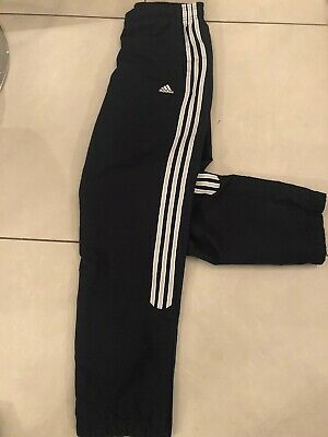 Womens Adidas Vtg Tracksuit Bottoms Sports Pants Gym Joggers Size 12