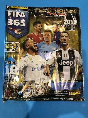 FIFA 365 Adrenalyn XL 2019 Trading Card Starter Pack GAME NEW