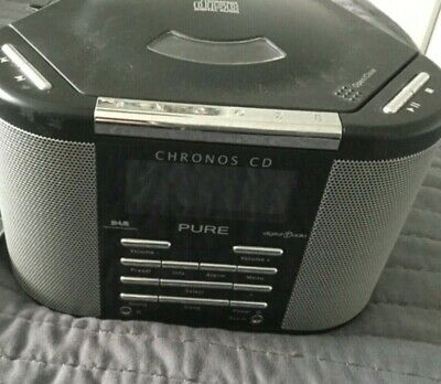 PURE CHRONOS CD, Alarm Clock, DAB/FM Radio with CD Player - Spares or repairs
