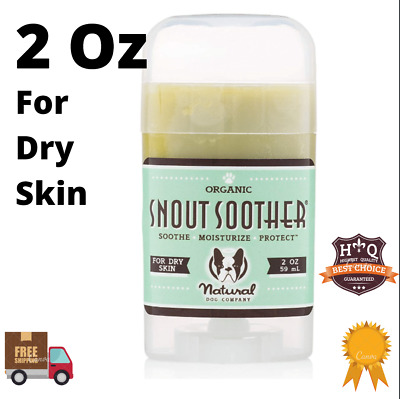 Dog Snout Soother Dry Skin Natural Remedy Crusty Pet Grooming Value Pack 2 Oz