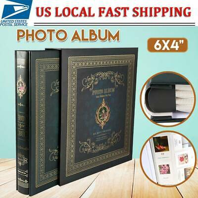 "Photo Album Large Slip-In Holds 500 6x4"" Photos Memo Picture Holds Deep Green US"