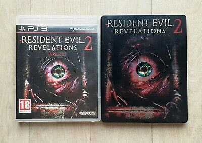 Resident Evil 2 Revelations Steelbook - Playstation PS3 PS4 - PAL FRA Near Mint