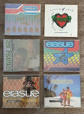 ERASURE - Rare Collection of 42 CD Singles - EP - DVD - Andy Bell & Vince Clarke