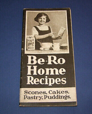 Be-Ro Home Recipes Baking/Cookbook. Eighteenth million/edition (early 1950s)