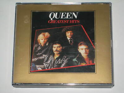 QUEEN-GREATEST HITS I+ II Vol.1+2 GOLD EDITION 2 X CD BOX SET BOHEMIAN RHAPSODY