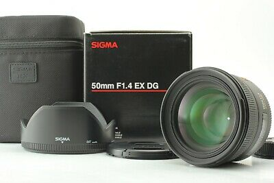 【Top MINT in Box】Sigma EX 50mm f/1.4 HSM DG EX AF Lens for Nikon AF D from Japan