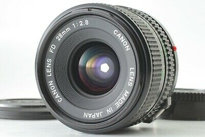 【MINT】Canon New FD 28mm f/2.8 NFD Wide Angle MF Lens from Japan #B207