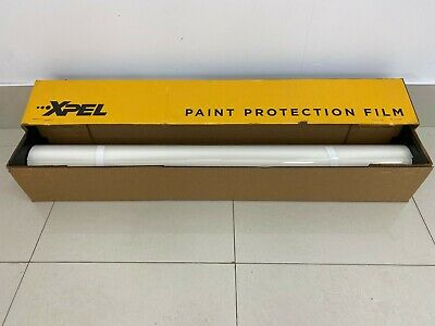 """Genuine XPEL Ultimate Plus Paint Protection Film PPF Clear Bra bulk 24"""" by foot"""