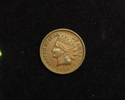 HS&C: 1895 Indian Head Penny/Cent VF - US Coin