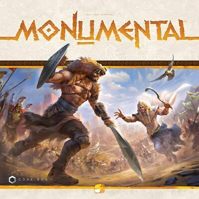 Monumental board game KICKSTARTER DELUXE WITH MINIS & STRETCHGOALS Funforge
