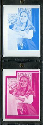 1977 Topps Charlies Angels Color Separation Proof Cards. #217