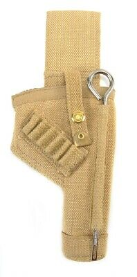 British Tanker 38 Webley Canvas Holster with shell loops and cleaning rod