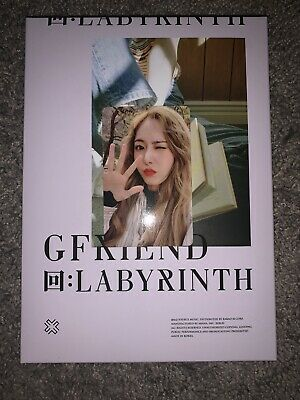 GFRIEND Official PHOTOCARD Mini Album 回:LABYRINTH Crossroads SinB Photocard