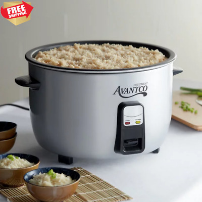 Arrocera Electrica 46 Cup Electric Rice Cooker Stainless Steel Silver 120 V 1650