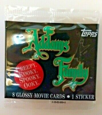 Topps 1991 The Addams Family sealed trading card pack