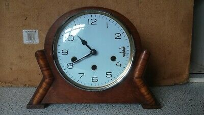 Triple Chime Art Deco Wall Clock