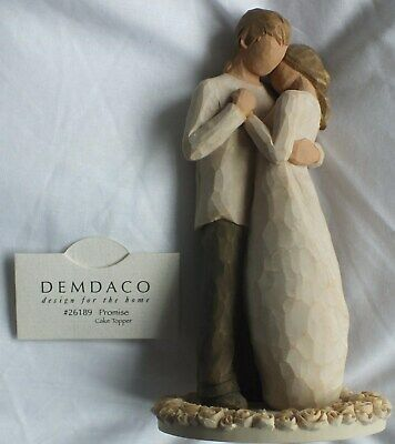 Willow Tree, Promise Cake Topper from Demdaco, Susan Lordi #26189
