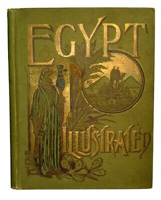 1891 EGYPT Egyptian Archaeology History Pyramid Cairo Nile Arabian Islam Antique