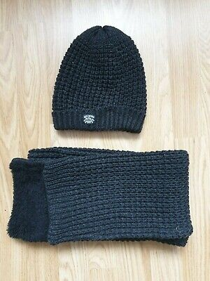 Boys Next Winter Hat & Scarf Bundle - Age 7-10 Years - Excellent Condition