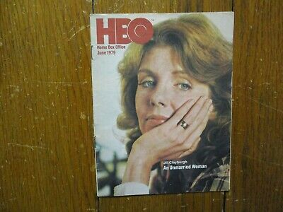 June-1979 HBO Home Box Office TV Mag(JILL CLAYBURGH/AN UNMARRIED WOMAN/THE OMEN)