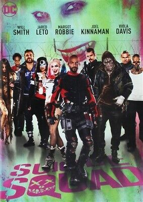 SUICIDE SQUAD New Sealed DVD 2016 Will Smith Jared Leto Margot Robbie