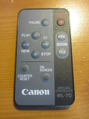 Canon WL-70 Wireless Controller