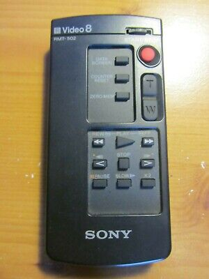 Sony Video 8 RMT-502 Remote Control