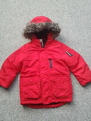 Boys Next Red Coat Age 3 Years