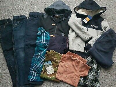 Boys Next H&M Nutmeg Spring Bundle Some Bnwt Age 4-5 Years