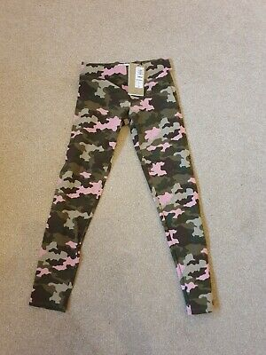 Girls Camouflage Leggings Age 11-12 years, Brand New With Tags M&S