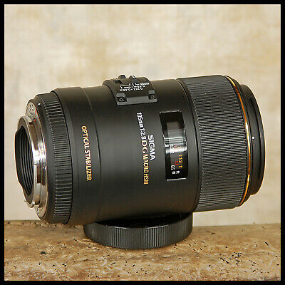 SUPER Canon EOS Digital Sigma 105mm EX OS DG TRUE Macro 1:1 Optical Stabilizer
