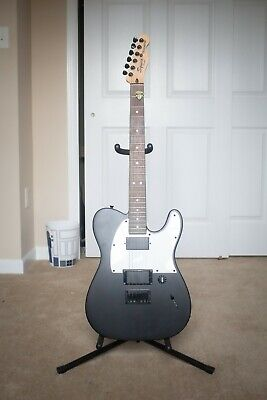 Fender Squier Jim Root Signature Telecaster Electric Guitar, Black (Barely Used)