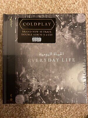 coldplay everyday life cd Brand New