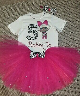Personalised Birthday Outfit 3 pcs LOL surprise dolls Diva