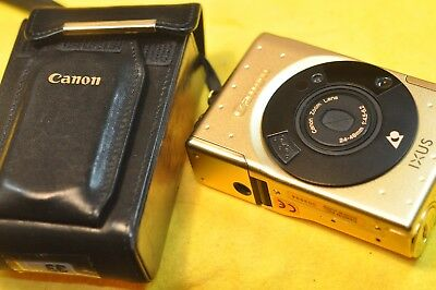 Canon Ixus gold edition