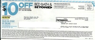 10  $10 off $30 BED BATH AND BEYOND COUPONS
