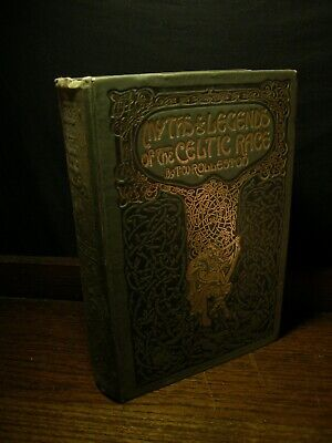 Myths & Legends of the Celtic Race - Rolleston OCCULT WITCHCRAFT FAIRY DRUIDS
