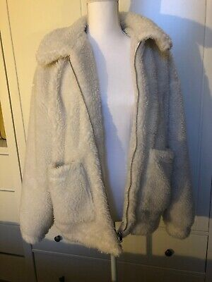 Women Winter Warm Teddy Bear Fleece Jacket Ladies Casual Fur Coat Outwear