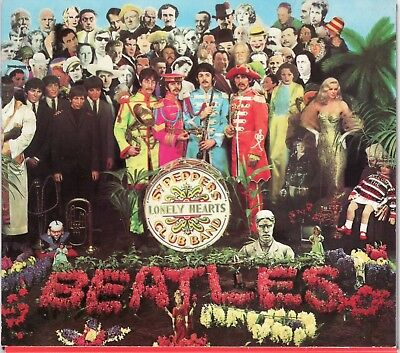 "The Beatles "" Sgt. Pepper's Lonely Hearts Club Band "" CD album with sleeve, 1987"