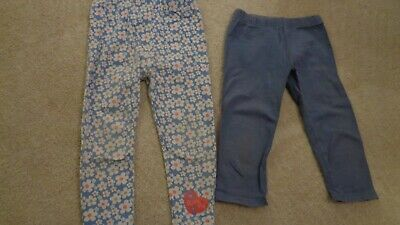 2 Pairs Of Girls Leggings Age 2 - 3 Years. Peppa Pig