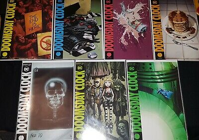 Doomsday Clock #1-7 FIRST PRINTS, Geoff Johns, Gary Frank, DC Comics