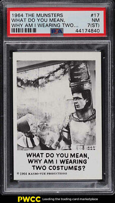 1964 The Munsters What Do You Mean, Why Am I Wearing #17 PSA 7(st) NRMT (PWCC)